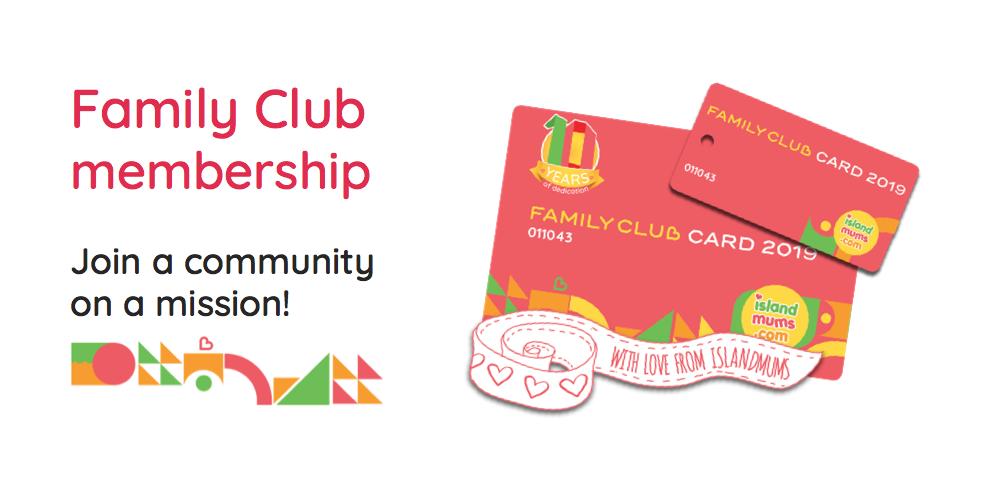 Family Club membership life