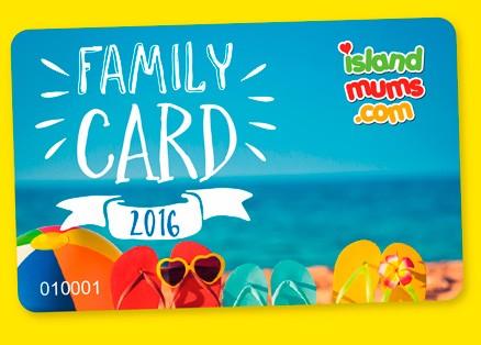 Island mums family card 2016