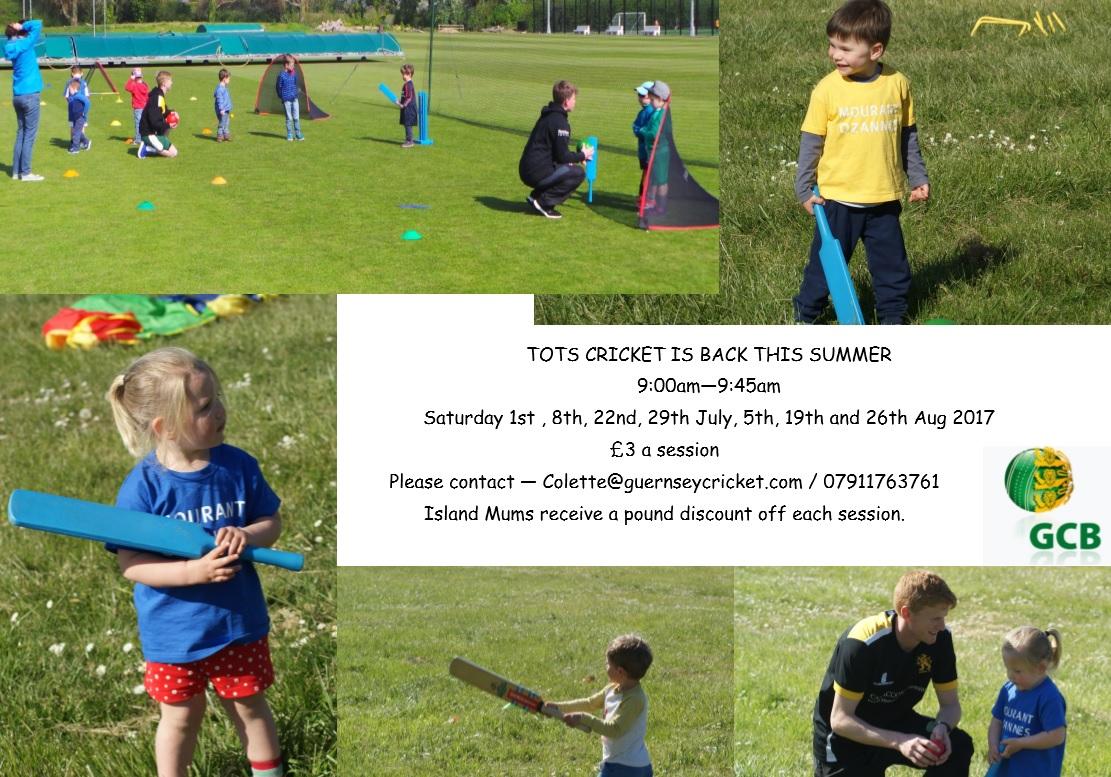 Tots Cricket Summer (1) | Islandmums - Guernsey family hub